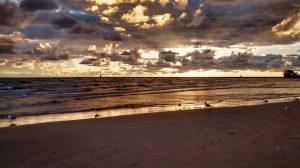 Sunrise Over Montrose Beach